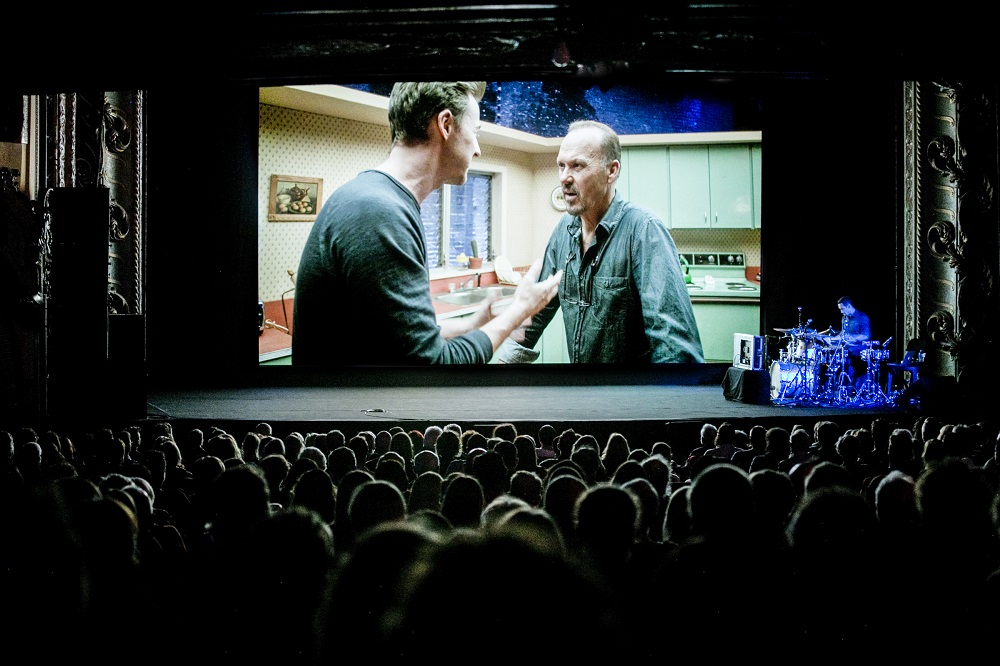 "Sydney – Gennaio 2016: ""Birdman"" sonorizzato dal vivo da Sanchez al Sydney Festival (ph Jamie Williams)"
