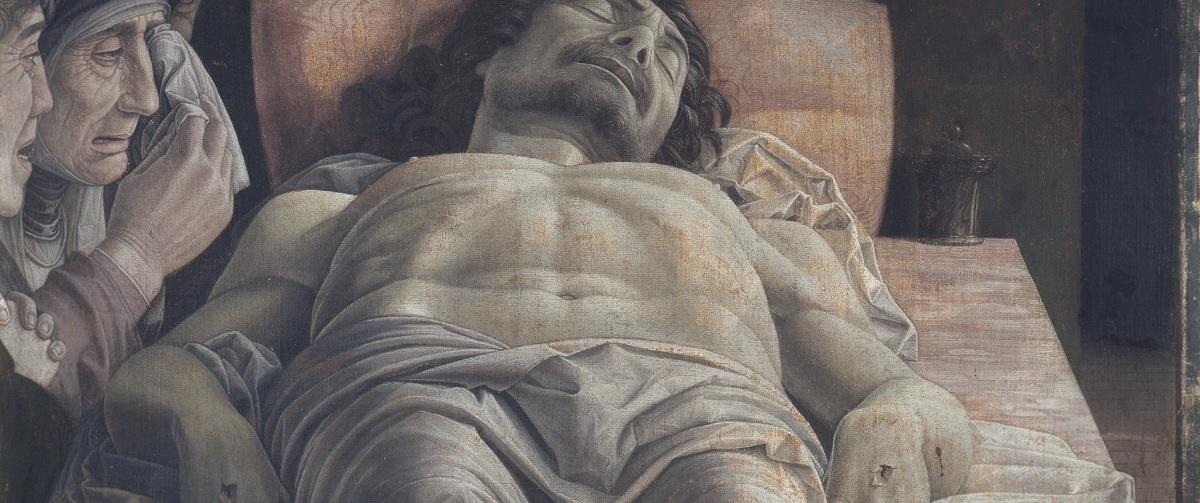Cristo morto nel sepolcro e tre dolenti Andrea Mantegna
