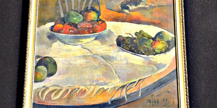 Quadri di Gauguin e Bonnard dai Carabinieri in Italia dopo quaranta anni