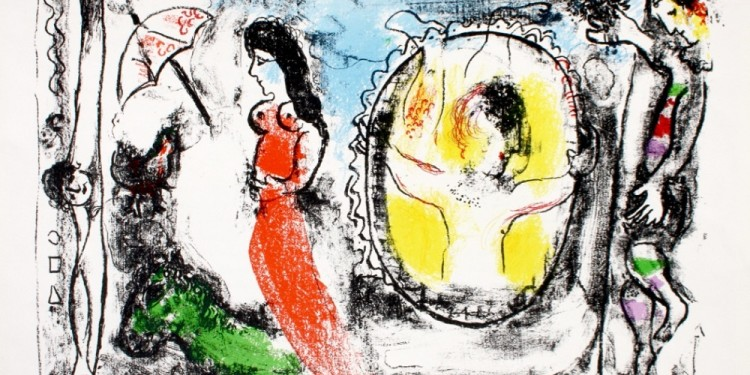 43-Chagall Derriere le miroir