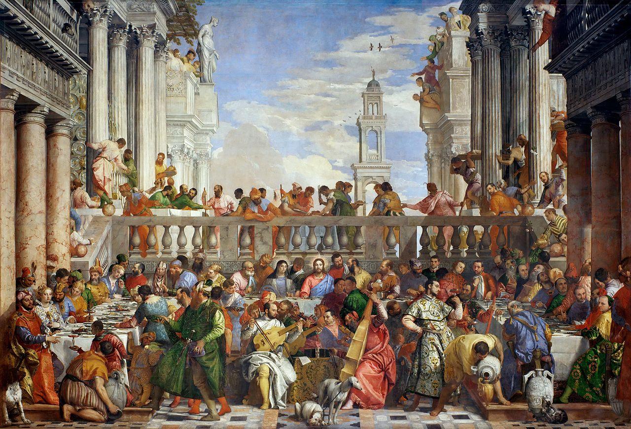 Le nozze di Cana - Louvre (Parigi)