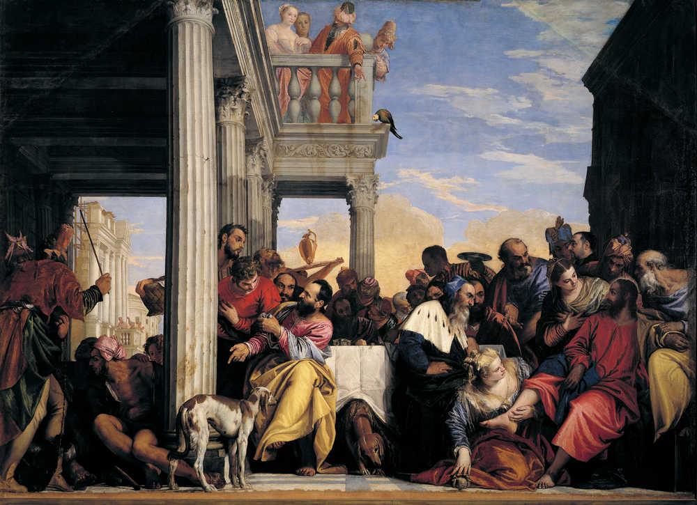 Cena in casa di Simone - Torino Galleria Sabauda