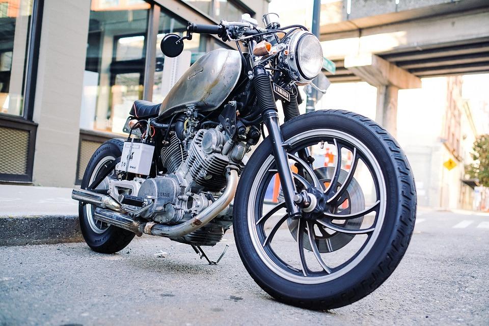 Old Motorcycle Vintage Bike Motorbike