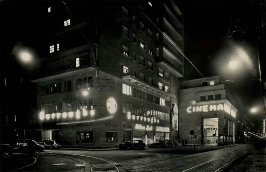 Il cinema Reposi nel 1950