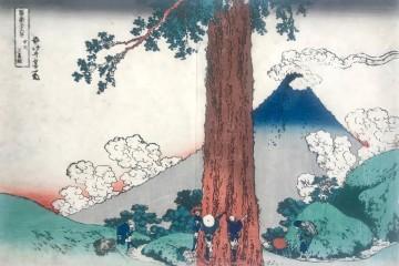 Hokusai: Trentasei vedute del Fuji Il Grande Cedro (1832)