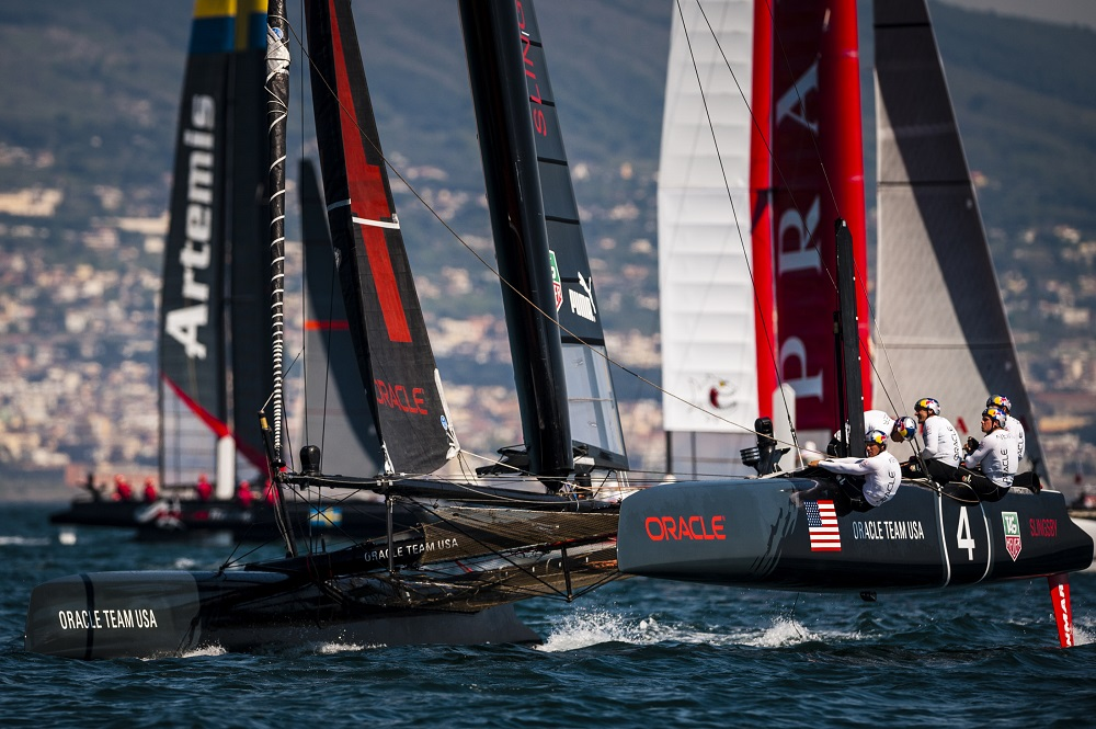 America's Cup World Series Regatta 2013 Naples