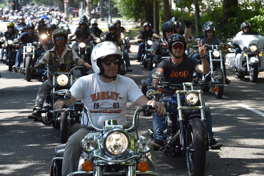 Mopar At 2nd Jeep & Harley Davidson Official Gathering