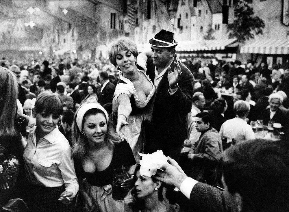 Munich Oktoberfest, 1969.