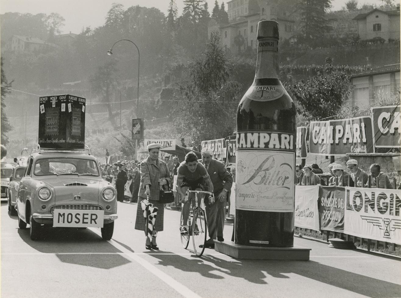 GP 2° DCM 1956 LUGANO ALDO MOSER PARTENZA © Courtesy Galleria Campari