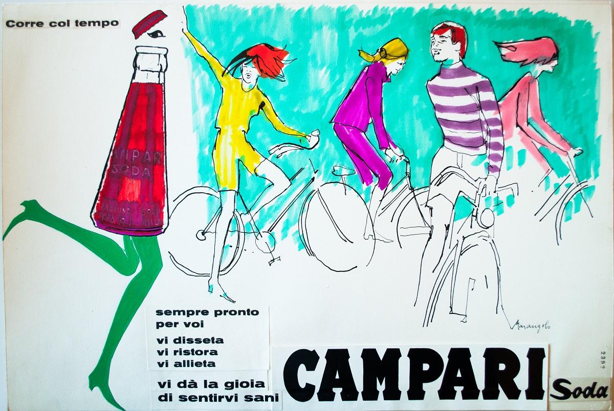 BOZZETTO MARANGOLO © Courtesy Galleria Campari