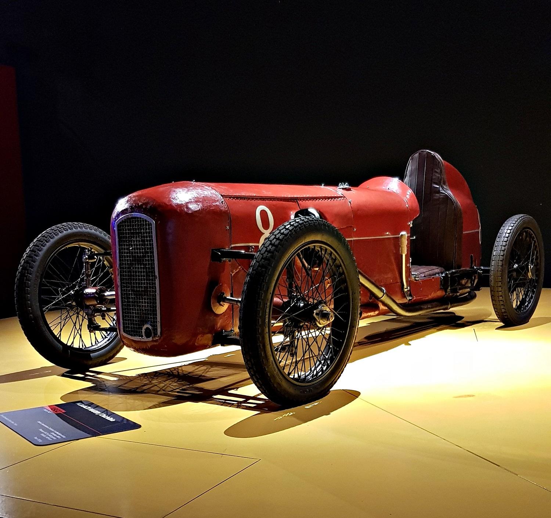 """Monaco """"Chichibio"""" - Museo dell'Automobile di Torino - Foto: Mario Antonaci"""