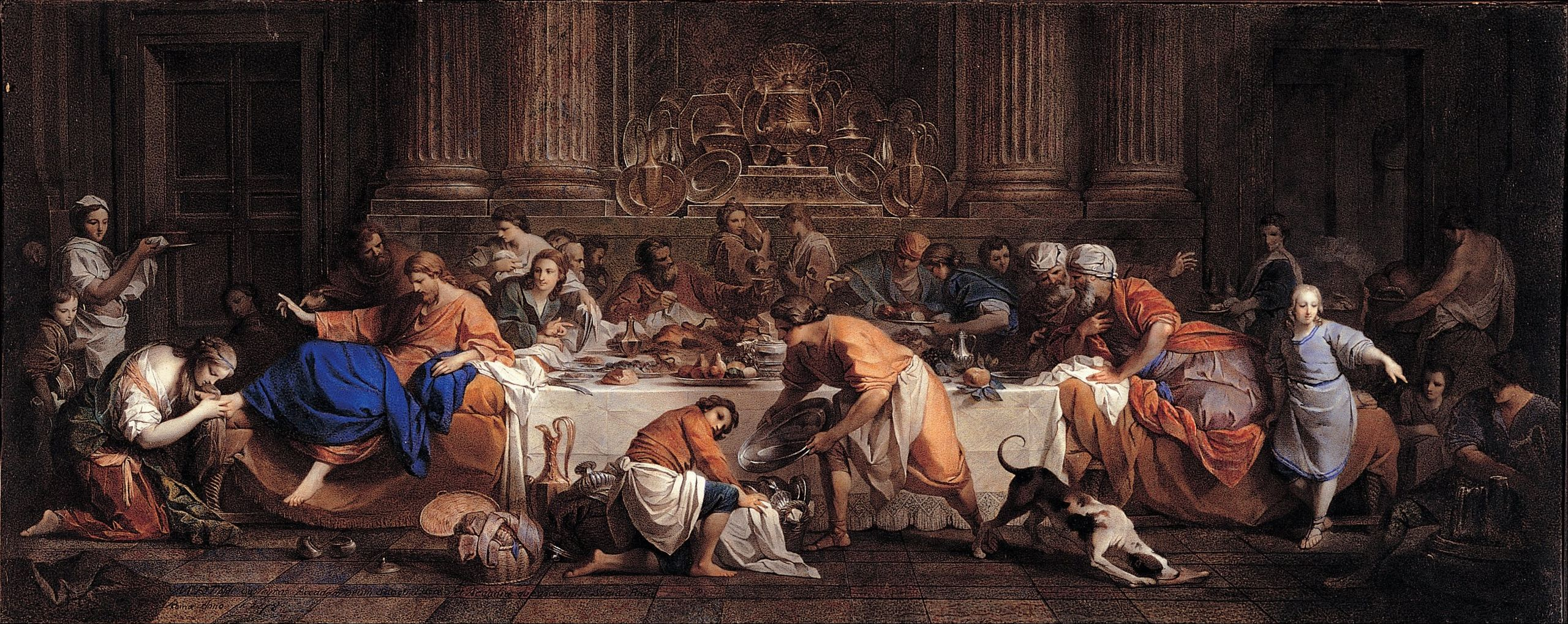 maria_felice_tibaldi_subleyras_-_dinner_at_the_house_of_the_pharisee_-_google_art_project