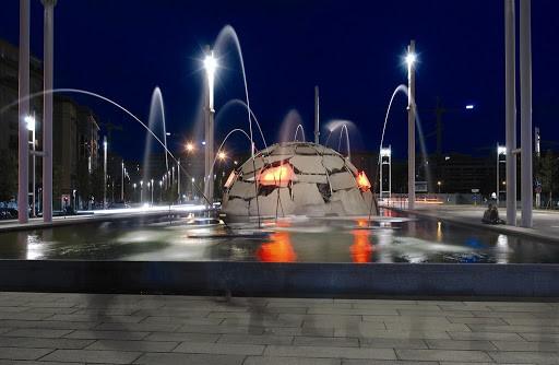 "Fontana Igloo"" di Mario Merz - MuseoTorino"